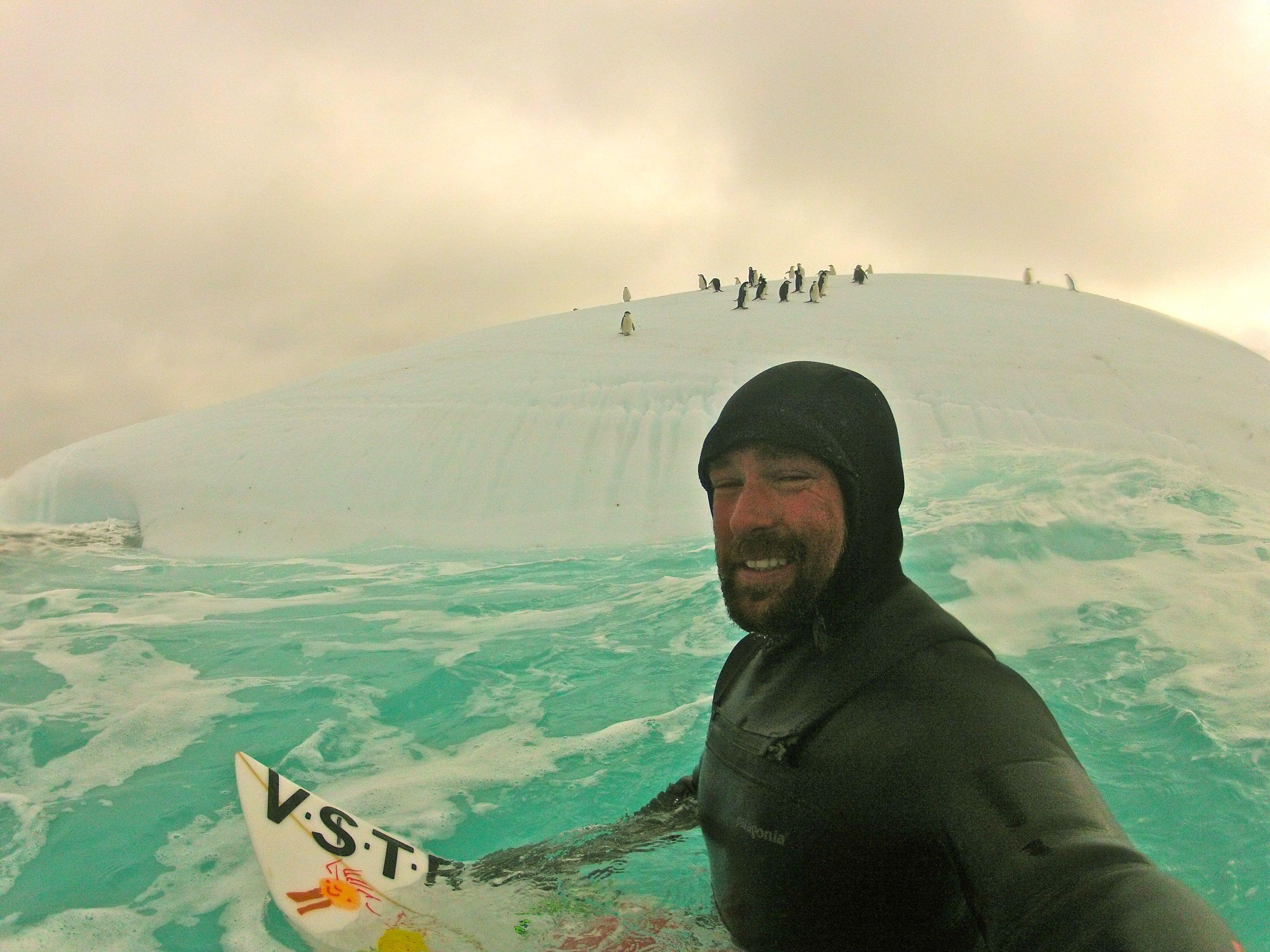 Kepa Acero en la Antártida. KepaAcero.com