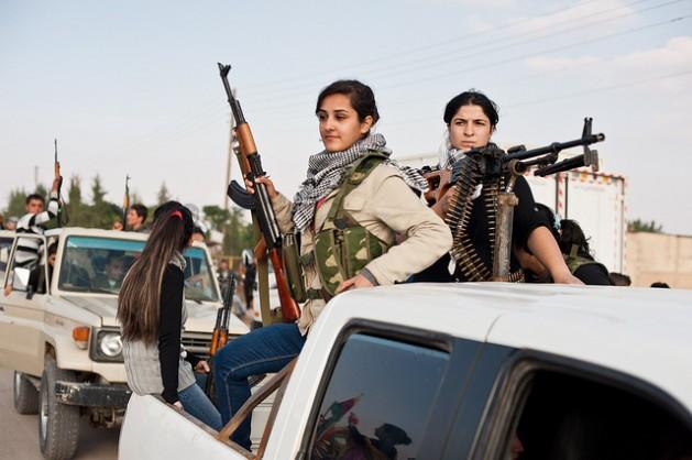 Guerra Siria en el kurdistán. Karlos Zurutuza
