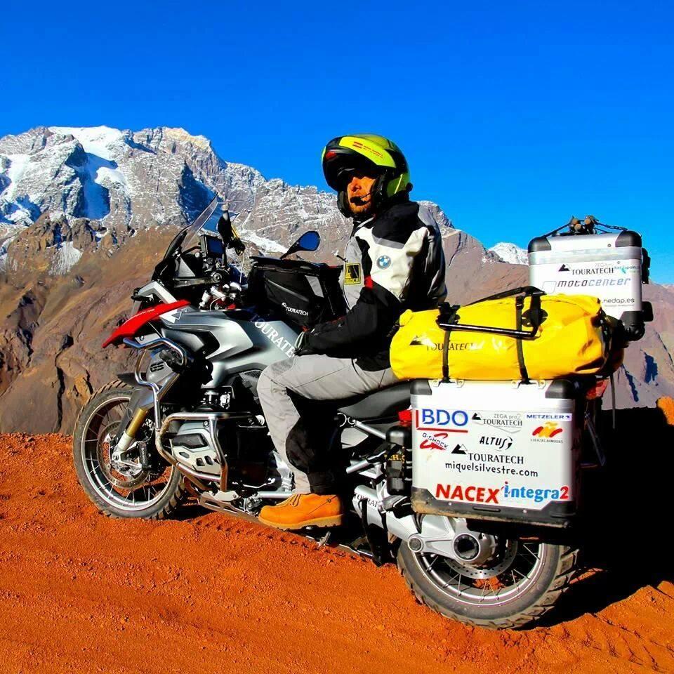 Miquel Silvestre en los Andes