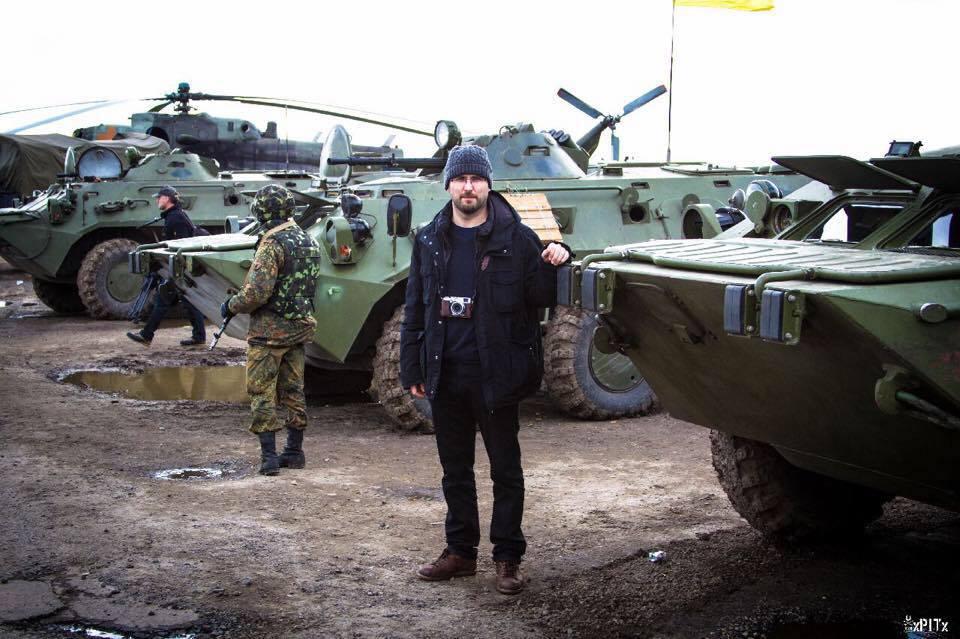 Pablo González, Piedra de Toque, Ucrania