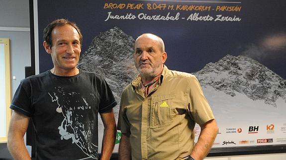 Alberto Zerain, Juanito Oiarzabal, Piedra de Toque