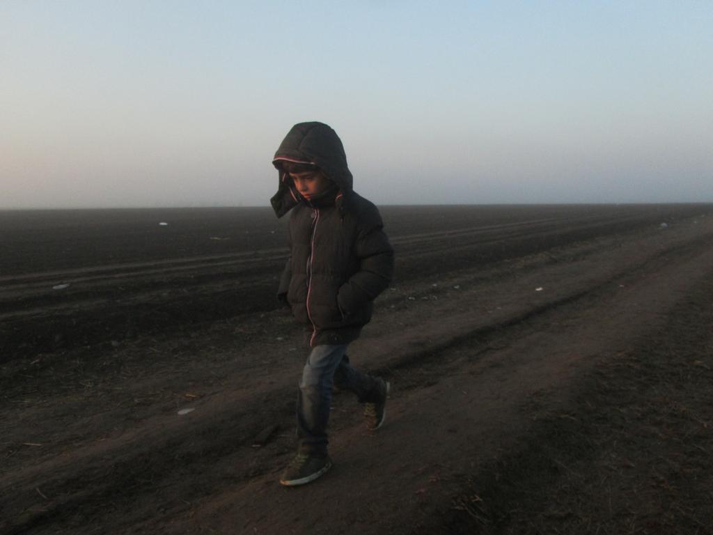 Refugiados en Hungría por Sergi Cabeza