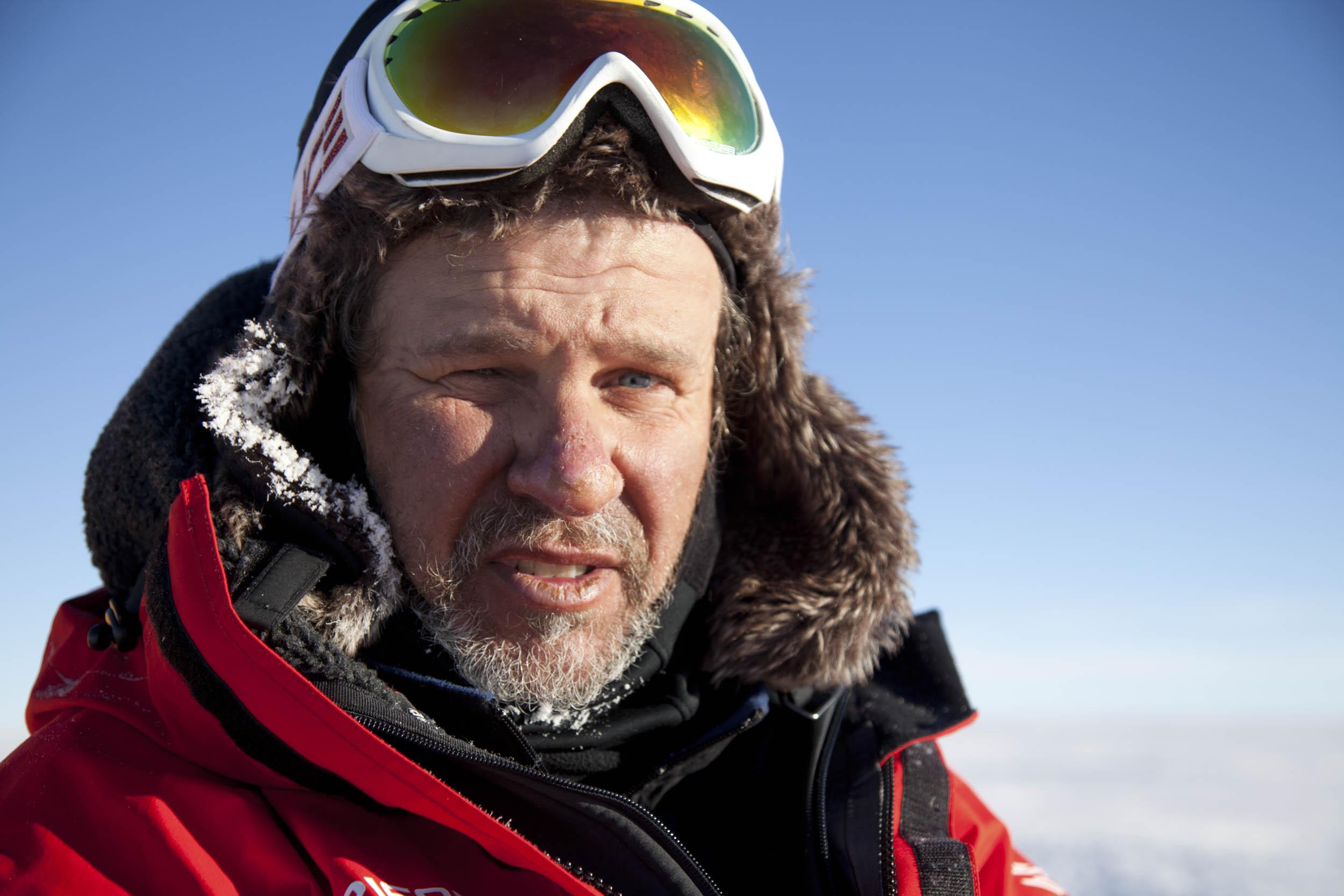 Ramón Larramendi, Groenlandia, Piedra de Toque
